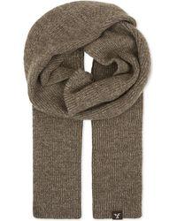 Tengri - Ribbed Wool Scarf - Lyst