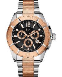 Gc - X53003g2s Sports Class Xxl Stainless Steel Watch - Lyst