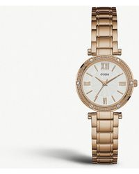 Guess - W0767l3 Park Ave South Watch - Lyst