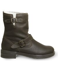 Office - Casual Biker Suede Boots - Lyst
