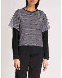 Aape - Underlay Netted Cotton Top - Lyst