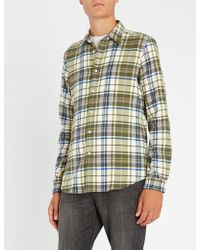 Paul Smith - Flannel Check Overshirt - Lyst