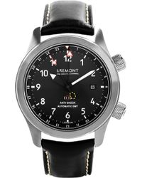 Bremont - Mb111/bz Martin Baker Stainless Steel Adn Leather Watch - Lyst