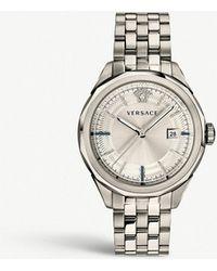 Versace - Vera00518 Glaze Stainless Steel Watch - Lyst