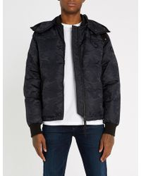 True Religion - Camouflage Shell-down Jacket - Lyst
