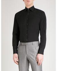 Thomas Pink - Rock Athletic-fit Cotton-blend Shirt - Lyst