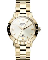 Vivienne Westwood - Vv152gdgd Gold-toned Stainless Steel Watch - Lyst