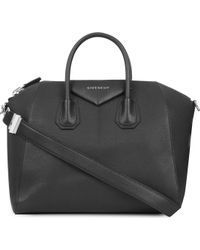 Givenchy - Antigona Sugar Medium Soft-grained Leather Tote - Lyst