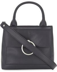 Claudie Pierlot - Anouck Small Leather Shoulder Bag - Lyst