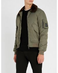 Belstaff - Sudeley Shearling Jacket - Lyst