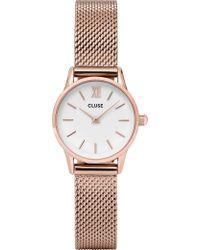 Cluse - Cl50006 La Vedette Rose-gold Watch - Lyst
