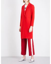 Mo&co. - Worsted Wool-blend Coat - Lyst