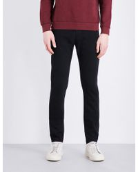 AG Jeans - Stockton Slim-fit Skinny Cotton Trousers - Lyst