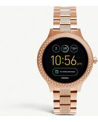 Fossil - Ftw6008 Q Venture Stainless Steel Smartwatch - Lyst