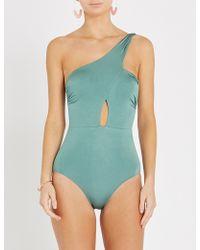 Lazul - Elsa One-shoulder Swimsuit - Lyst