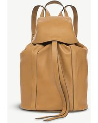 Loewe - Rucksack Small Leather Backpack - Lyst