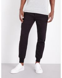 PAIGE - Baxter Stretch-jersey jogging Bottoms - Lyst