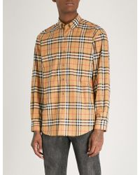 Burberry - Jameson Regular-fit Cotton-poplin Shirt - Lyst
