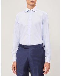 Corneliani - Regular-fit Cotton Shirt - Lyst