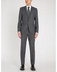 HUGO - Slim-fit Wool Suit - Lyst