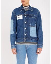Calvin Klein - Patch One-pocket Denim Jacket - Lyst