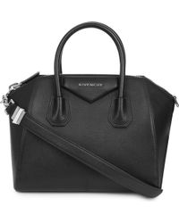 Givenchy - Antigona Sugar Small Leather Tote - Lyst