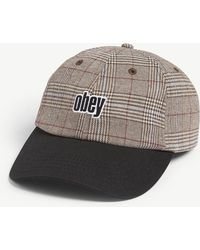 360d7d60576 Obey Jungle Hat in Black for Men - Lyst