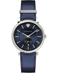 Versace - 674966 Stainless Steel Quartz Watch - Lyst