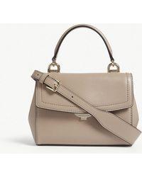 252ab64e4058 MICHAEL Michael Kors - Michael Kors Ladies Truffle Brown Ava Leather  Cross-body Bag -