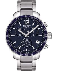 Tissot - T095.417.11.047.00 Quickster Stainless Steel Watch - Lyst
