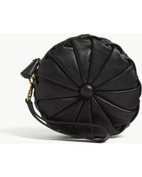 Anya Hindmarch - Black Pillow Leather Clutch Bag - Lyst