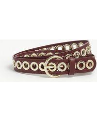 Sandro - Adelia Leather Belt - Lyst