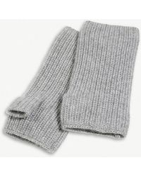 The White Company - Ribbed Cashmere Wrist Warmers - Lyst