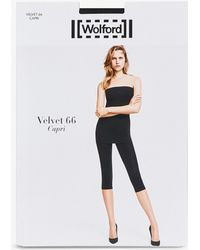 Wolford - Velvet 66 Capri leggings - Lyst