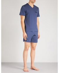 La Perla - Textured Cotton-jacquard Pyjama Set - Lyst