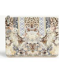 Camilla - Printed Pouch Bag - Lyst