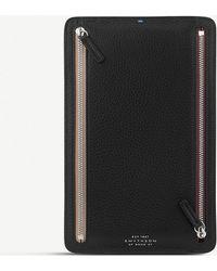 Smythson - Burlington Leather Currency Case - Lyst