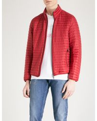 Emporio Armani - Quilted Shell-down Jacket - Lyst