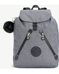 Kipling - Dark Grey Fundamental Backpack - Lyst
