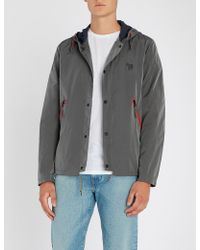 PS by Paul Smith - Zebra-embroidered Shell Jacket - Lyst