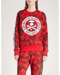 Aape | Logo-print Cotton-blend Sweatshirt | Lyst