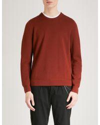 The Kooples - Zipped Wool-blend Jumper - Lyst