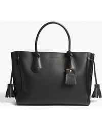 Longchamp - Pénélope Grained Leather Tote Bag - Lyst