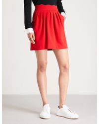 Claudie Pierlot - Sylvia Scalloped Woven Skirt - Lyst