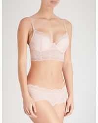 B.tempt'd - Undisclosed Underwired Lace Bralette - Lyst