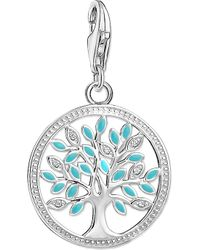 Thomas Sabo - Tree Of Life Charm Club Silver Charm Pendant - Lyst