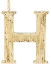 Chloé - Alphabet H Pendant - Lyst
