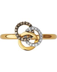 Links of London | Treasured 18ct Gold & Diamond Ring | Lyst