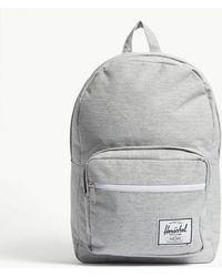 Herschel Supply Co. - . Light Grey Crosshatch Woven Pop Quiz Backpack - Lyst