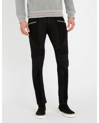 Balmain - Biker Slim-fit Jeans - Lyst